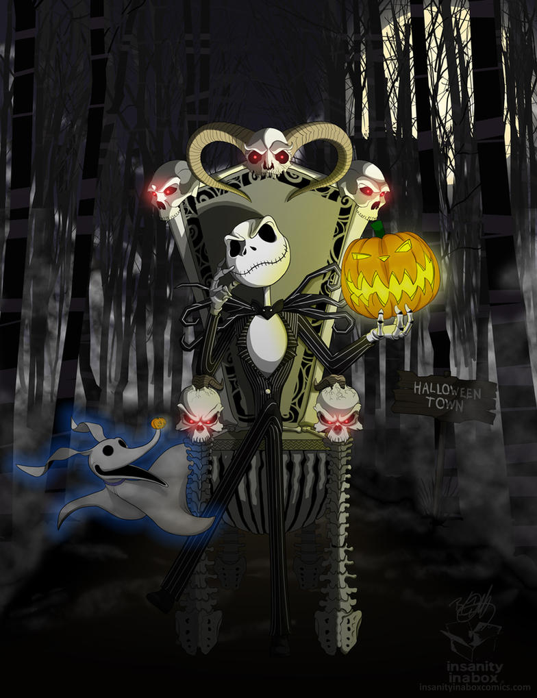 Jack Skellington (Commission) by Ubergimp