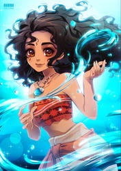 MOANA by KishiShiotani