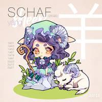Chinese Zodiac Sign - SHEEP - GOAT by KishiShiotani