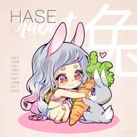 Chinese Zodiac Sign - RABBIT by KishiShiotani