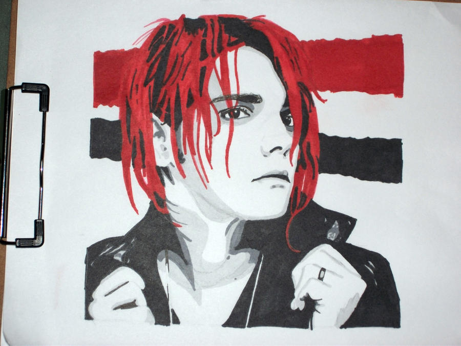 Gerard Way by Eclipsefangirl1