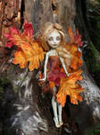 Monster High repaint Rochelle Goyle by Magic-by-Mie