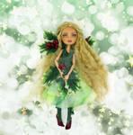 Ever after High repaint Ashlynn Ella by Magic-by-Mie
