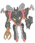 Scissor Boy (Beast Wars: Uprising) by Solarzilla