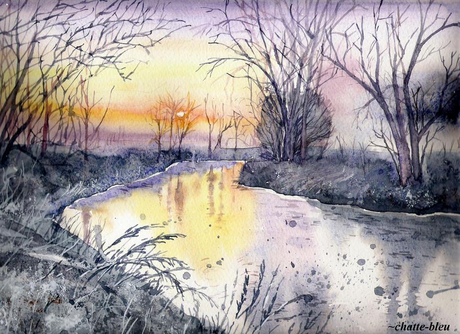 Nad rzeka by chatte-bleu