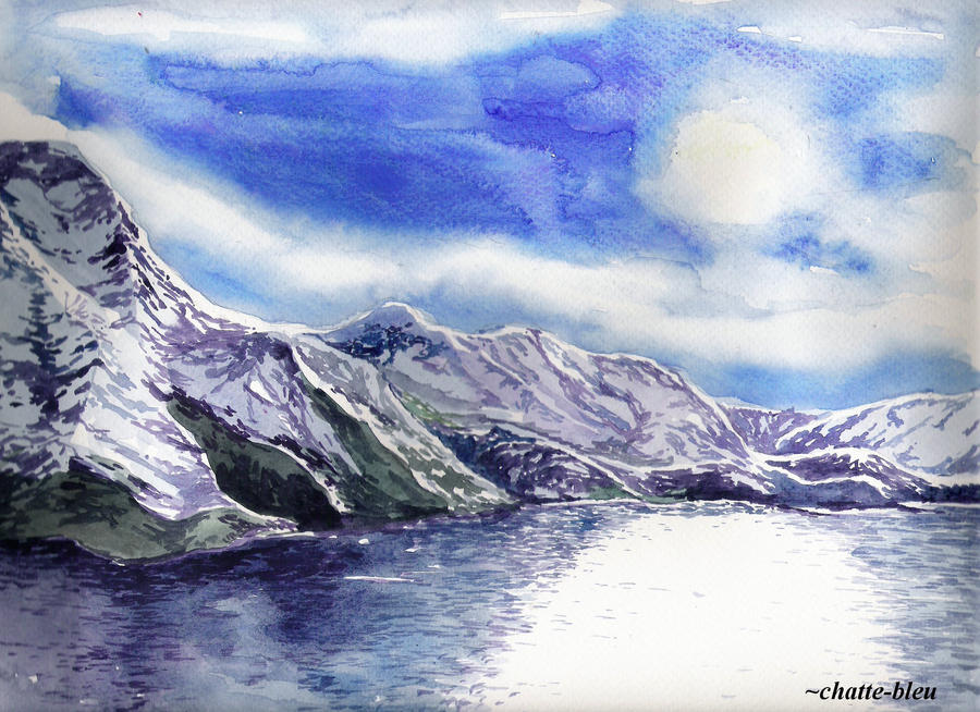 Mountains by chatte-bleu