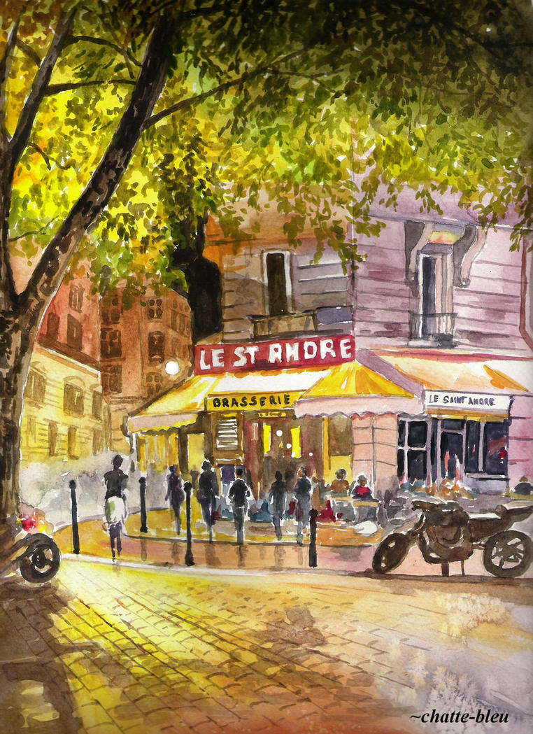 A Paris 4 by chatte-bleu