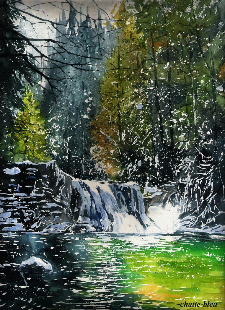 Rzeka 5 by chatte-bleu