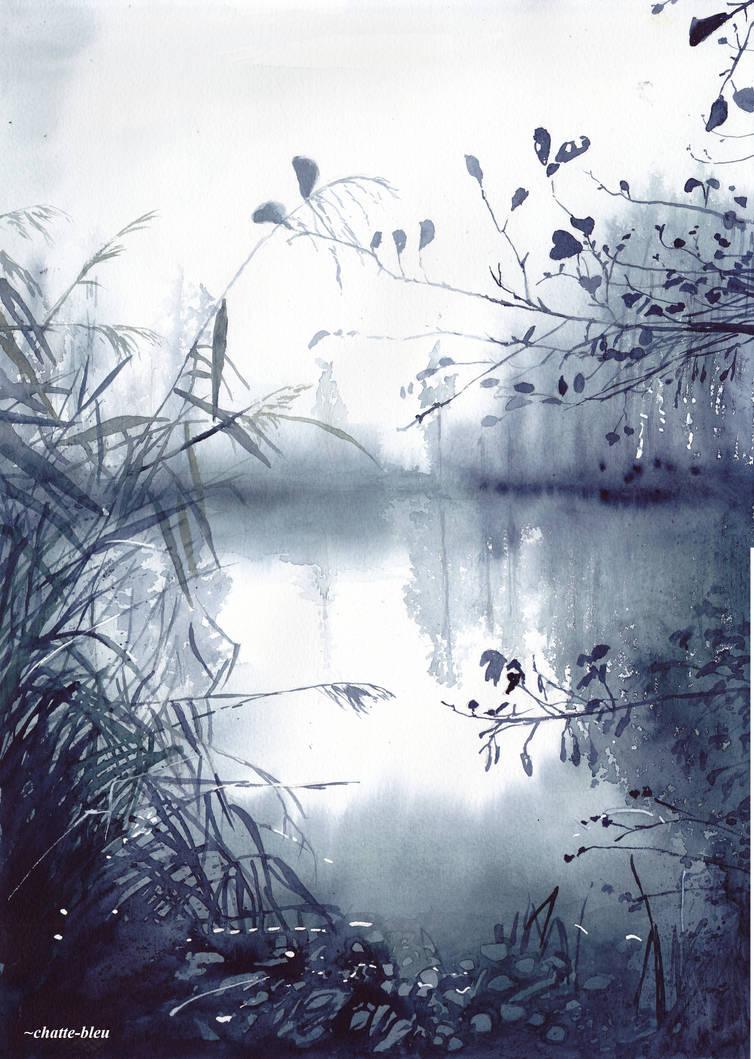 Jezioro by chatte-bleu