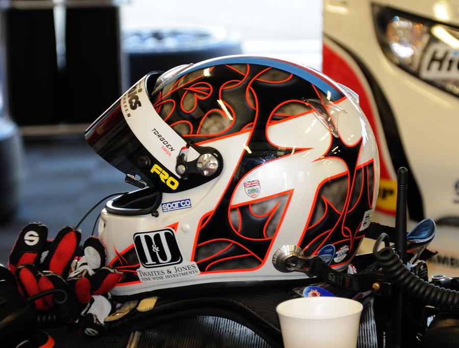 Matt Neal Crash Helmet by pma27