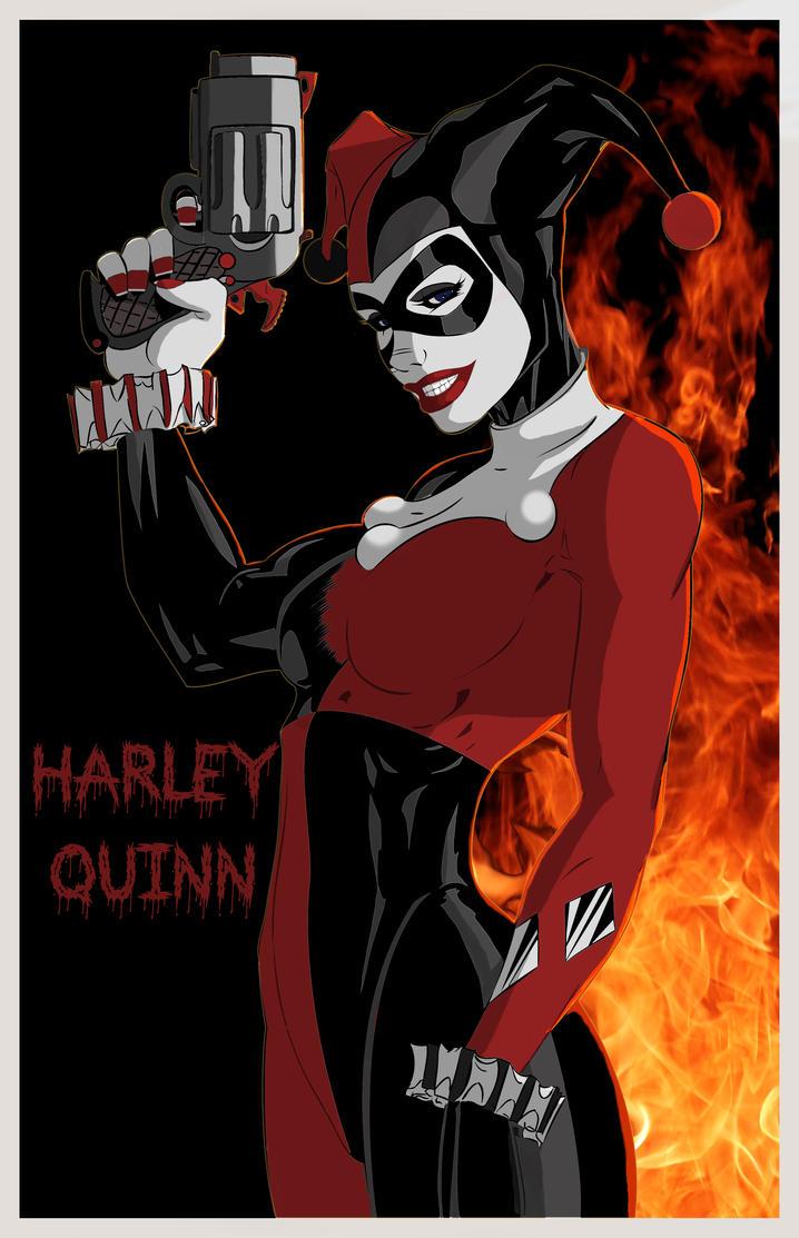 Harley  Quinn by pma27