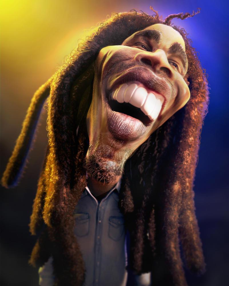 Bob Marley by mrpeculiar
