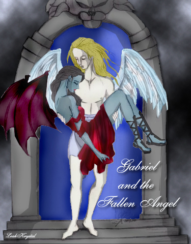 Gabriel and The Fallen Angel by arcee-moderator