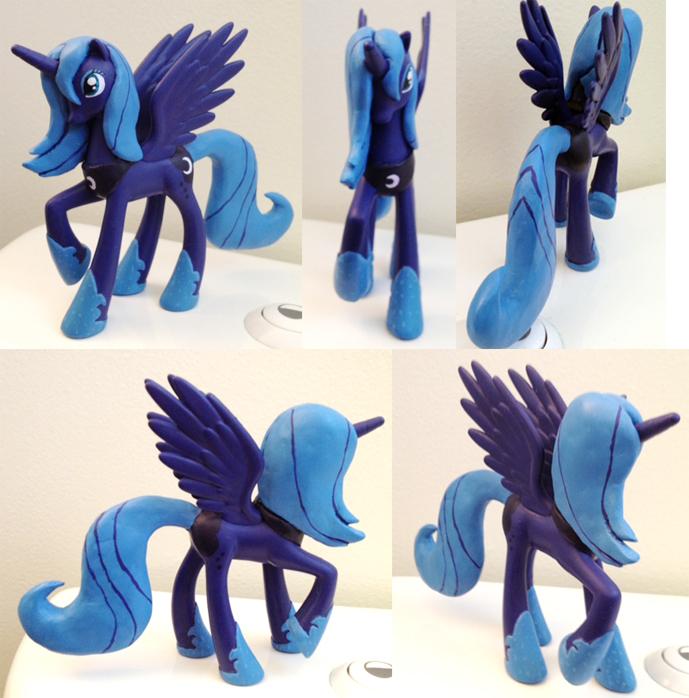 MLPFIM Season One Princess Luna custom by davisaroflmao