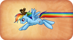 Rainbow Dash and Hedges