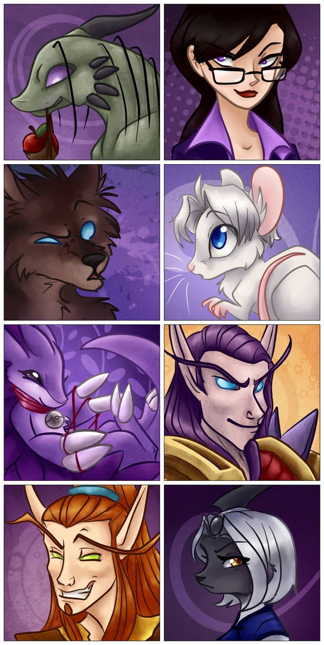 Icon commissions by gabapple