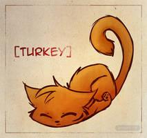 Turkey Cat by gabapple