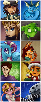 Icon Commissions - November 2011