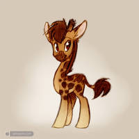 My Little Giraffe by gabapple