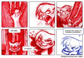 Dangerous Cute - Two Faces pt 3 by gabapple