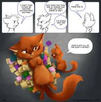 Dangerous Cute - Happy 2 Year Comicversary by gabapple