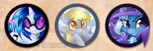 More Pony Buttons