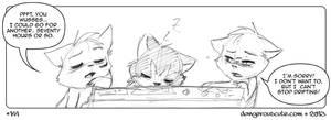 Dangerous Cute #141: No Sleep - No Regrets