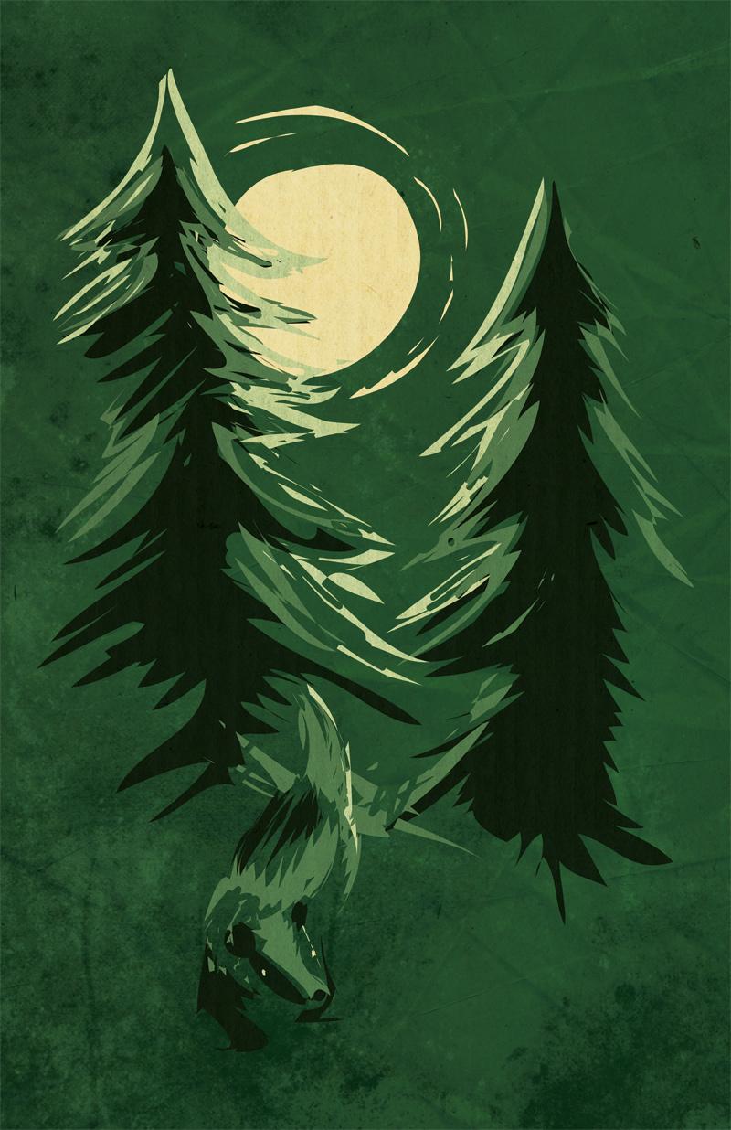 Badger Forest by gabapple