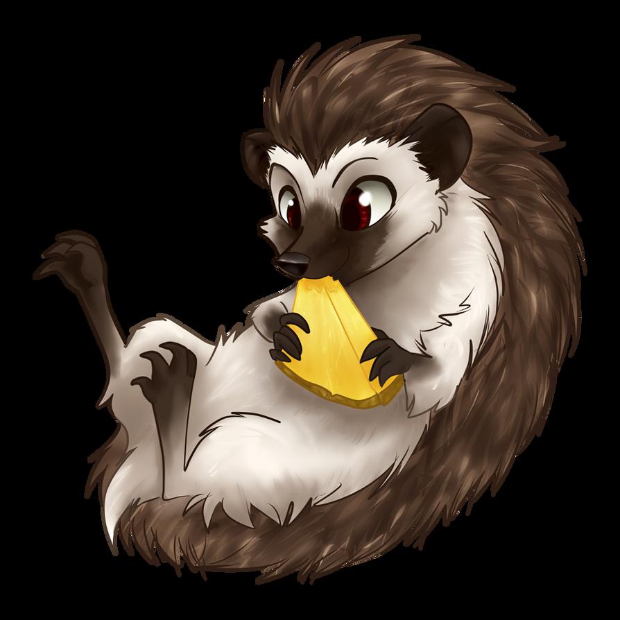 Fruit Animal - Hedgehog by gabapple