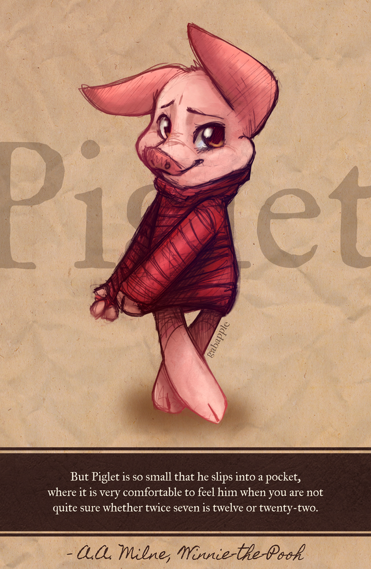 Pigletttt by gabapple