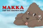 Makka The Big Brown Dog by gabapple