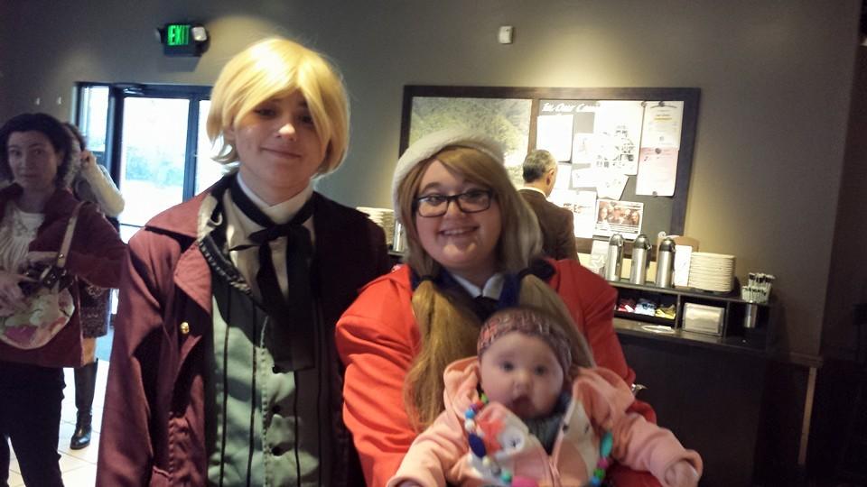 Me (femCanada) De(Alois)And baby Keria(little sis) by lisabean