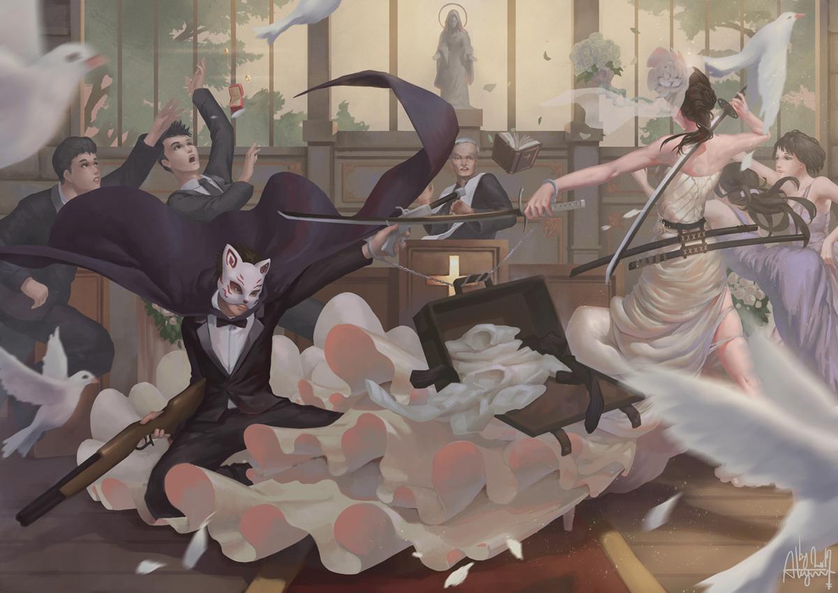 Katana Bride by ALAGANTM