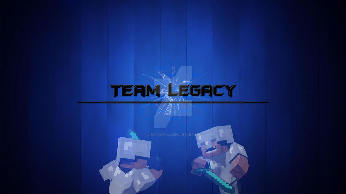 TeamLegacy Desktop Background by J-R-Graphics