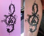 My sketch became a tattoo