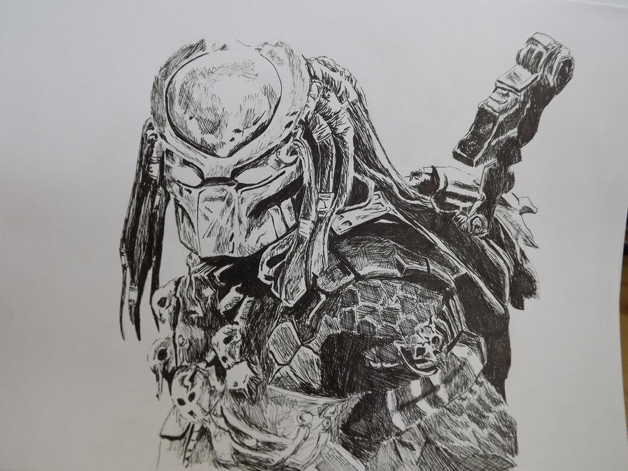 Fine Line Art : Predator by pride joy on deviantart