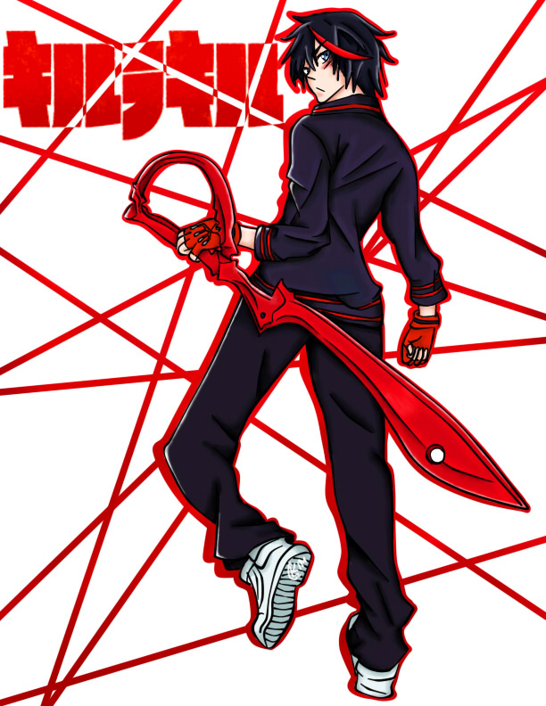 image Kill la kill senketsu costume malfunction