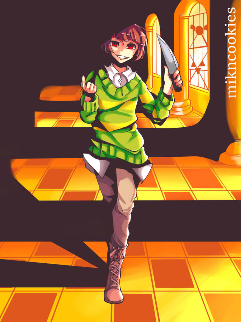 Chara [Undertale Genocide Route] by MiknCookies