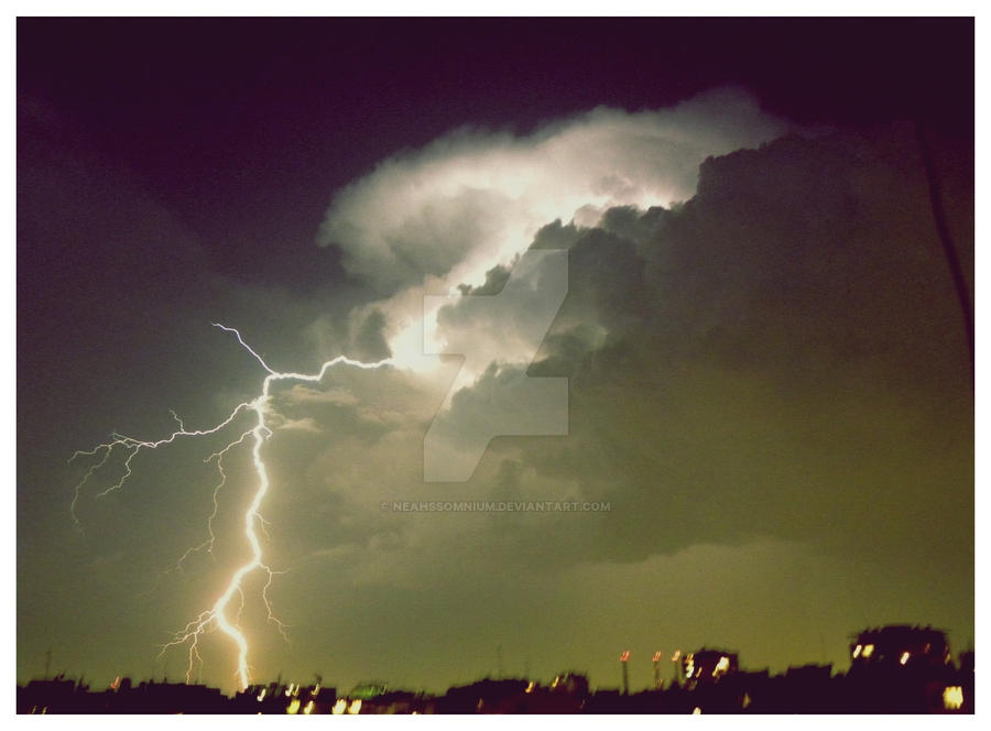 Lightning. by NeahsSomnium