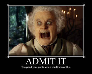 LOTR: Still the scariest thing ever!