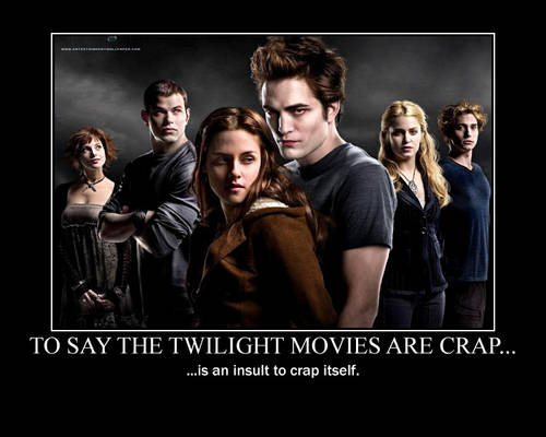 Twilight: Yep, pretty much.