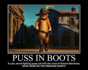 Puss in Boots: Coolest character ever!