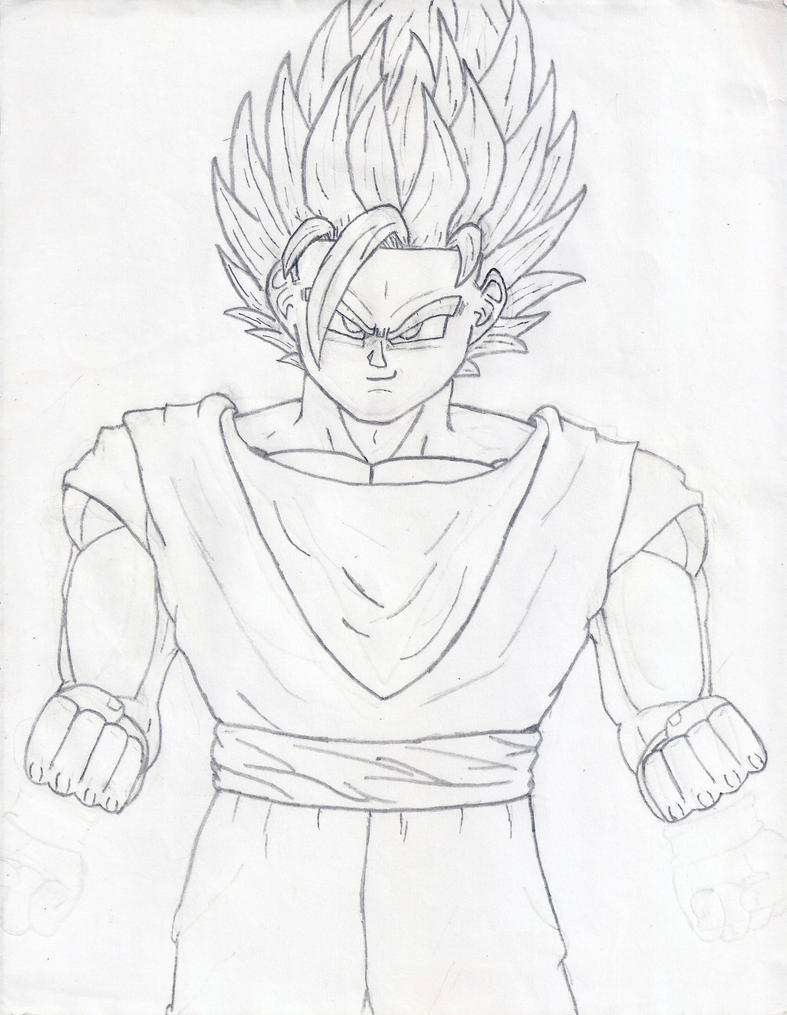Ssj Drawing to Draw Goku Ssj God Step