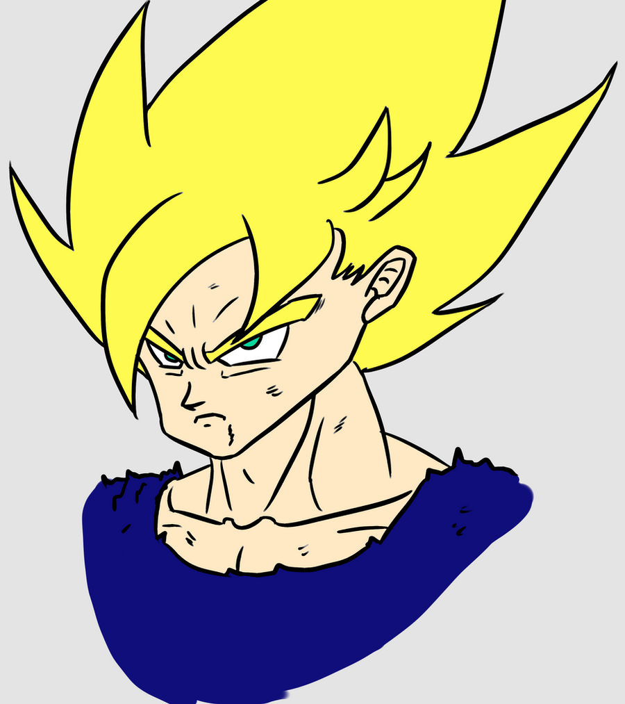 The Super Saiyan by Gokuevp