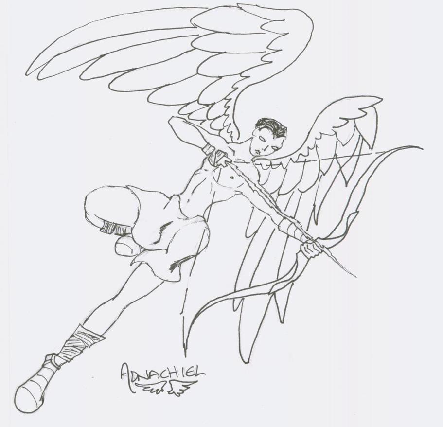 Archangel Adnachiel by Darkchylde7