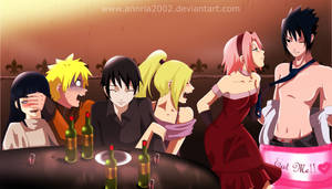 naruto PARTY couples by annria2002