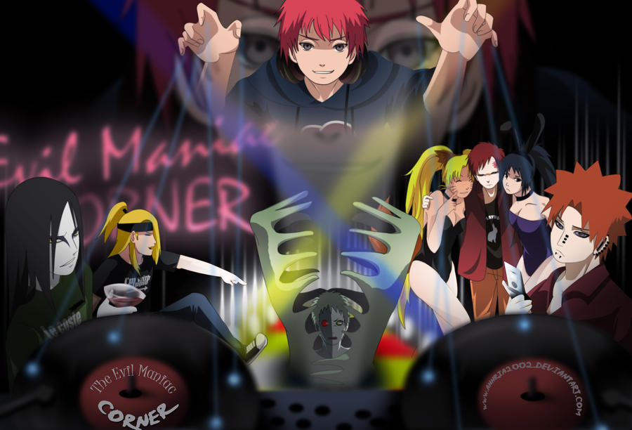 The Evil Maniac Corner by annria2002
