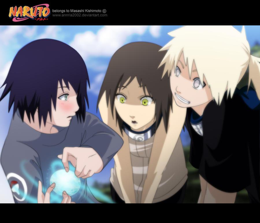 Kiseki learns rasengan by annria2002