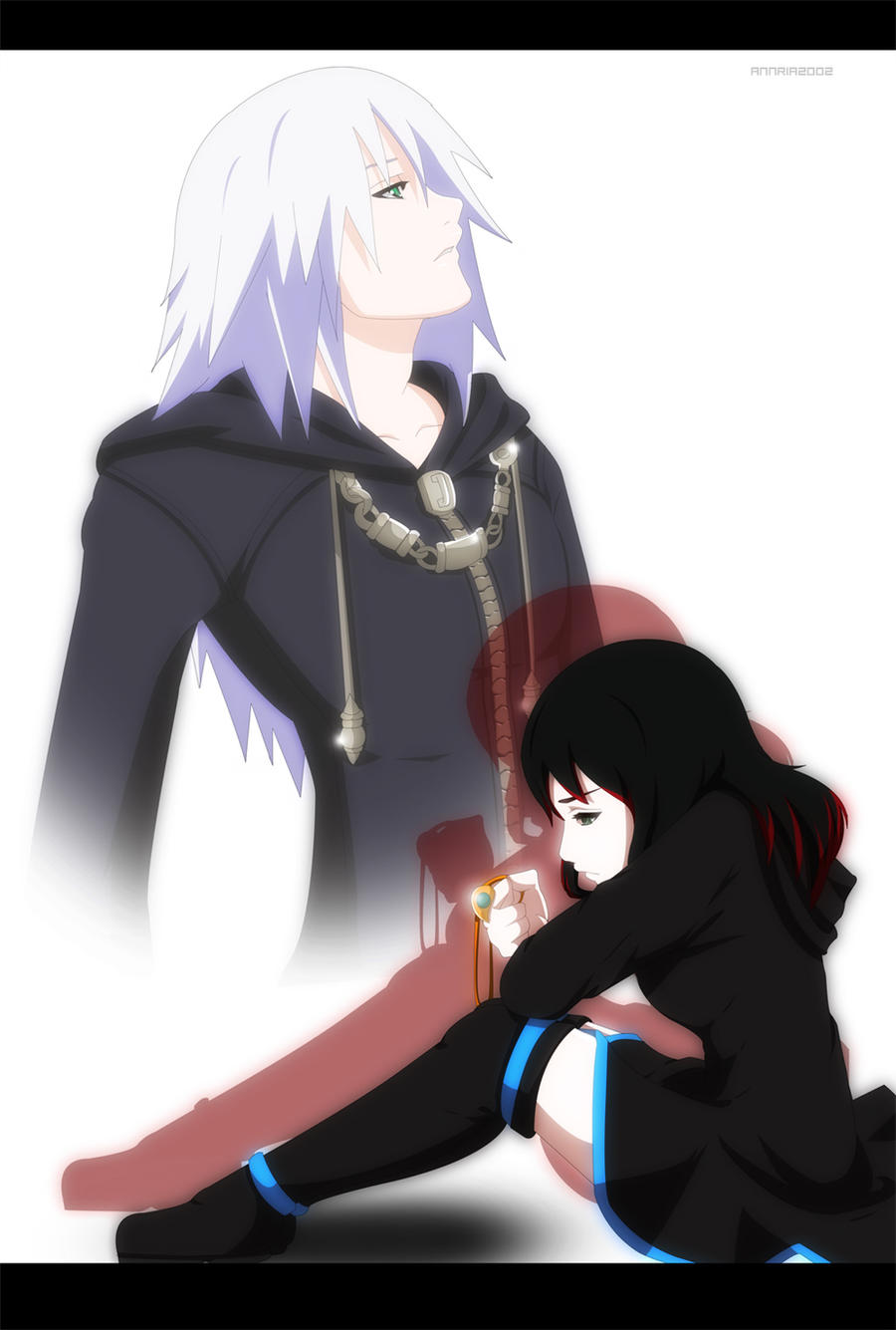 Commission:  Riku and Mitexi by annria2002