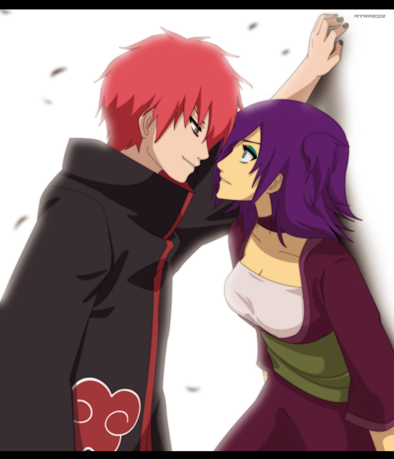 Commission: Sasori and Tereya by annria2002